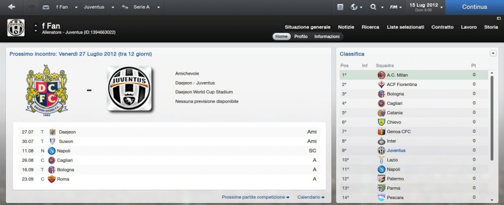 stemmi serie a football manager 2012