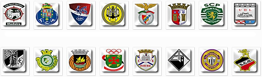 Fm 12 ecco i loghi del portogallo squadre e competizioni for Nuovo design per l inghilterra